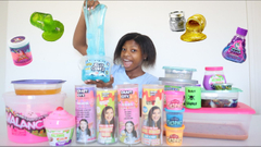 Huge Store Bought Slime Collection! Karina Garcia Slime Packs + Nickelodeon Slime!
