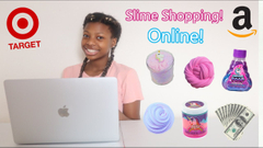 How To Do Online Shopping On Target + Amazon! Slime Supply Shopping!