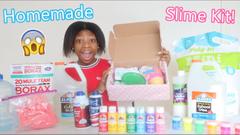 Making My Own Slime Kit!