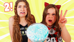 MAKE THIS SLIME PRETTY WITH ONLY 2 COLORS CHALLENGE | JKrew