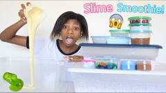 Mixing All My Slimes Into A huge Slime Smoothie!   Part 2   Peachy Queen