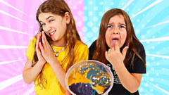 FIX THIS VERY UGLY SLIME CHALLENGE! Cilla CHEATED! | JKrew