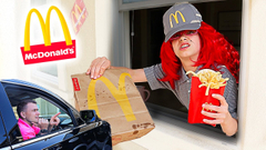 We OPENED Our Own McDonald's At Home! Ms. Cillarini STYLE! | JKrew