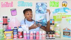 Making My Own Slime Kit Mini Edition!