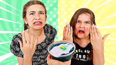 FIX THIS SLIME WITH LONG NAILS CHALLENGE  | JKrew