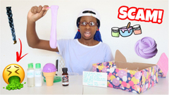 My Worst Slime Package Ever Part 2! Becky's Back!