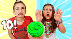 FIX THIS SLIME WITH 10 INGREDIENTS CHALLENGE | JKrew