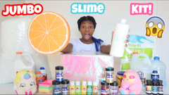 Making My Own Jumbo Slime Kit!