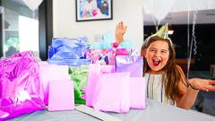 Maddy's 10th Birthday! Opening Presents! | JKrew