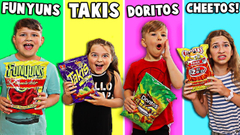 LAST TO STOP EATING SPICY CHIPS WINS MYSTERY PRIZE!! | JKrew