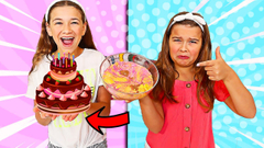 TURN THIS UGLY SLIME INTO A PRETTY CAKE SLIME! | JKrew