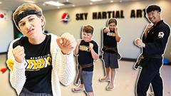 Ms. Cillarini Goes to Taekwondo School! | JKrew