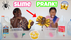 Mom's Extreme Prank On Daughter! Spiders In The Slime Prank!