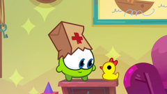 Om Nom Stories: Nibble-Nom - An apple a day