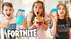 Eating ONLY Fortnite Food for 24 HOURS! | JKrew