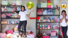 Organizing My Slime Shelf!