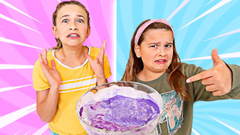 TURN THIS UGLY SLIME TO THE PRETTIEST SLIME CHALLENGE! | JKrew