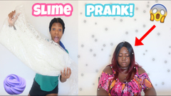 Pouring Foam Beads On My Mom Prank! Gone Wrong!