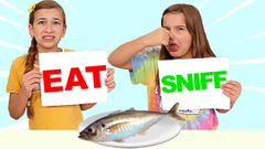 EAT, SNIFF, LICK, LEAVE Challenge! | JKrew