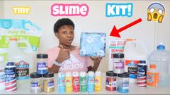 Making My Own Tiny Slime Kit!