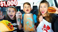 LAST To STOP EATING FAST FOOD Wins $1,000 Challenge! | JKrew