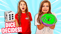Letting a DICE Control Our Slime! | JKrew