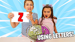 FIX THE SLIME USING ONLY LETTERS! | JKrew