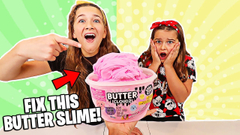 FIX THIS STORE BOUGHT BUTTER SLIME CHALLENGE!