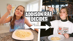 ADDISON RAE Controls What We EAT for 24 HOURS! | JKrew