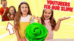 Slime Siblings FIXES Our Slime Challenge! | JKrew