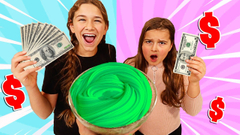 FIX THIS SLIME ON A BUDGET! $1 VS $1000 CHALLENGE | JKrew