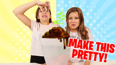 MAKE THIS SLIME FROM THE TRASH PRETTY! | JKrew