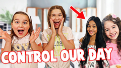 LETTING FAMOUS YOUTUBERS DECIDE OUR DAY FOR 24 HOURS! (FUNNY) | JKREW
