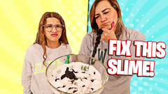 FIX THIS SLIME CHALLENGE!! **MOMMY WENT CRAZY** | JKREW