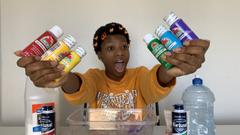 Making A Jumbo Rainbow Slime!