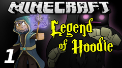 """Minecraft Legend of Hoodie E01 """"Wizard's First Day"""" (Silly Role-play)"""