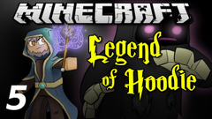 """Minecraft Legend of Hoodie E05 """"Baby Pet Scorpion"""" (Silly Role-play)"""