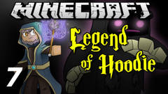 """Minecraft Legend of Hoodie E07 """"Hermit Hut"""" (Silly Role-play)"""