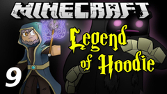 """Minecraft Legend of Hoodie E09 """"New Spellbook!"""" (Silly Role-play)"""