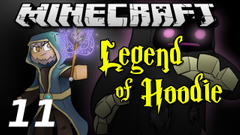 """Minecraft Legend of Hoodie E11 """"Cave Ogre SMASH!"""" (Silly Role-play)"""
