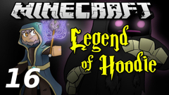 """Minecraft Legend of Hoodie E16 """"Hedge-Wizard Brothers"""" (Silly Role-play Adventure)"""