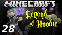 """Minecraft Legend of Hoodie E28 """"Nether Raid!"""" (Silly Role-play Adventure)"""