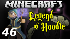 """Minecraft Legend of Hoodie E46 """"The Dark Tower!"""" (Silly Role-play Adventure)"""