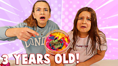 FIX THIS 3 YEAR OLD SLIME CHALLENGE! **HORRIBLE** | JKREW