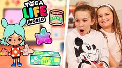 DIY SLIME BOX!! FREE GIFT IN TOCA LIFE WORLD!! | JKrew
