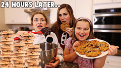 LAST TO MAKE COOKIES WINS!! **VERY FUNNY** | JKREW