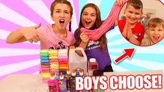 BOYS CHOOSE OUR SLIME INGREDIENTS!! **BAD IDEA** | JKREW