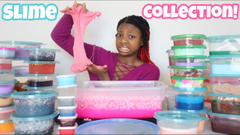 My Jumbo Slime Collection Part 2!