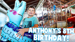 ANTHONY'S BIRTHDAY SPECIAL!! **SO MUCH FUN** | JKREW