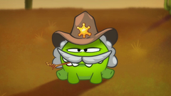 OM Nom Stories: Time Travel - Wild West (Episode 19, Cut the Rope: Time Travel)